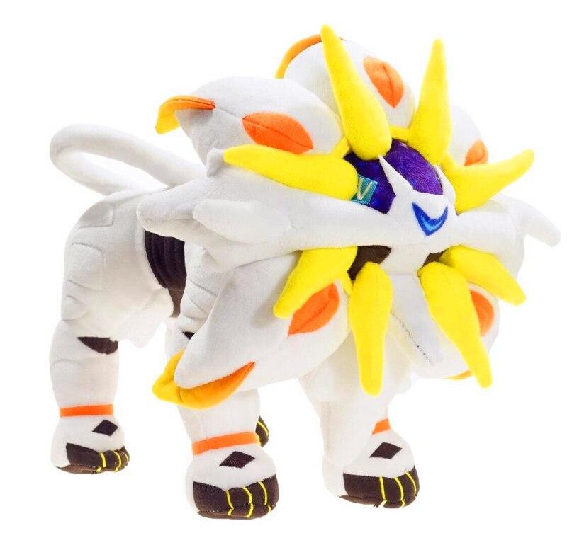 Pokemon 30cm 48cm  Solgaleo Plush Toy  Soft Stuffed Peluche Dolls Gift for Kids' Christmas